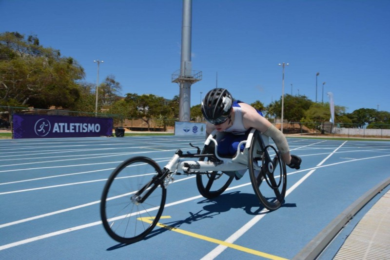 Jamie's London Mini Wheelchair Racing Challenge