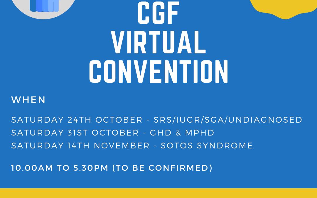 CGF Virtual Convention